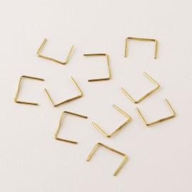 Agrafes - Lot de 10 pièces