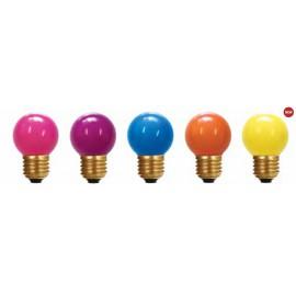 """Lot de 5 ampoules de guirlande """"Pop"""""""