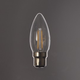 Flamme filament Led B22 -2W