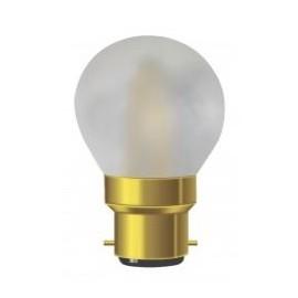 Sphérique filament led satinée B22 - 4W - Falbala-luminaires