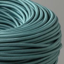 Câble textile Céladon