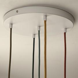 Pavillon 5 trous blanc grand format - Falbala Luminaires