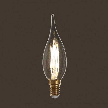 Flamme Grand Siècle led claire - E14 - 4W - Falbala-luminaires