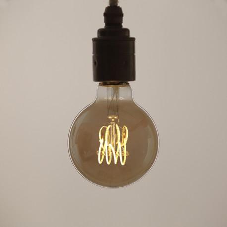 Globe 80 Edison fumé - Falbala luminaires