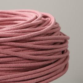 Câble textile recyclé Guimauve - Falbala Luminaires