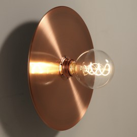 Kit applique Faraday + Grand Disque cuivre - Falbala Luminaires