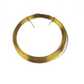 Rouleau fil laiton 0.6 mm - 10 m