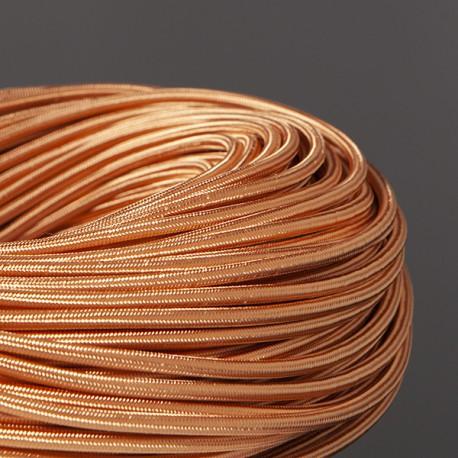 Câble textile Blush - Falbala Luminaires
