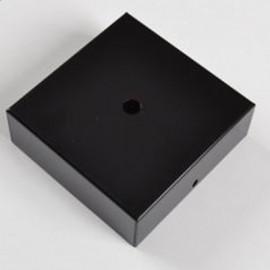 Pavillon carré noir - Falbala Luminaires