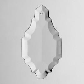 Plaquette cristal 1004 - Falbala-luminaires