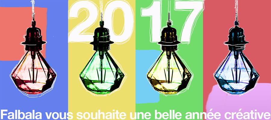 VOEUX 2017-Falbala Luminaires