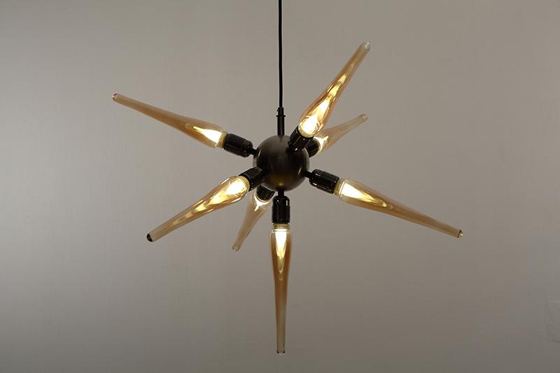 Le spoutnik-falbala luminaires