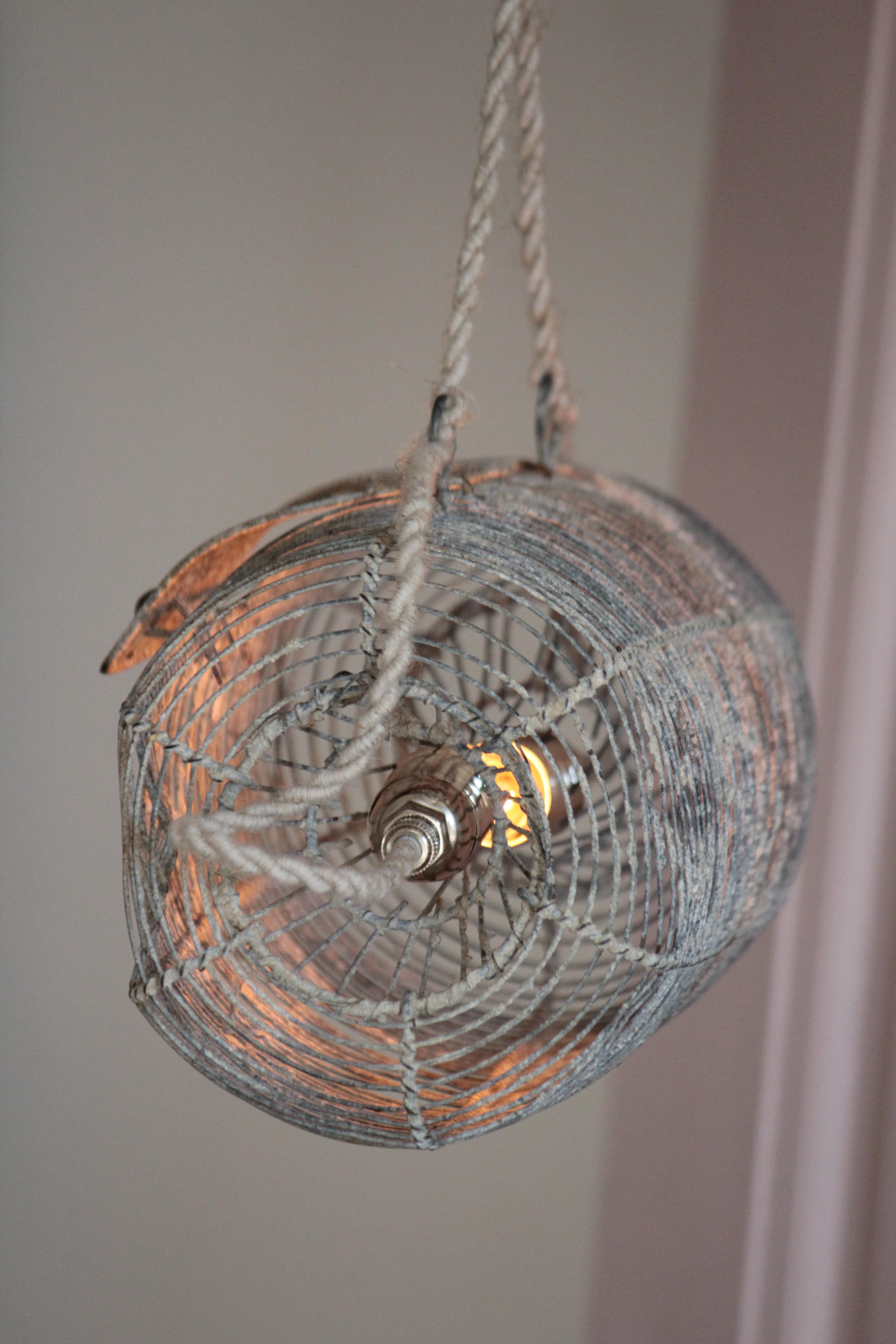nasse horizontale détail-falbala luminaires