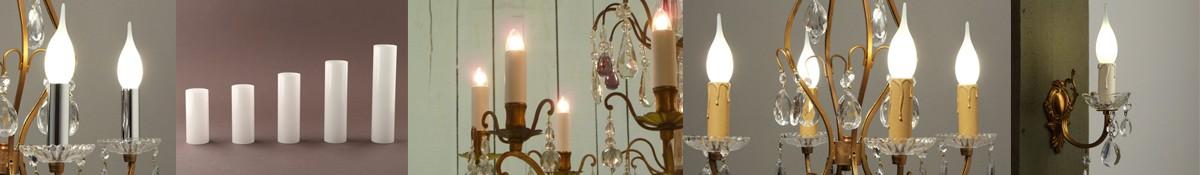 abat-jour en tissu attache sur bougie de AFY lustre Lot de 6 lampe /à nuance